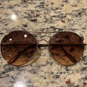 LOFT Ann Taylor Aviator Sun Glasses